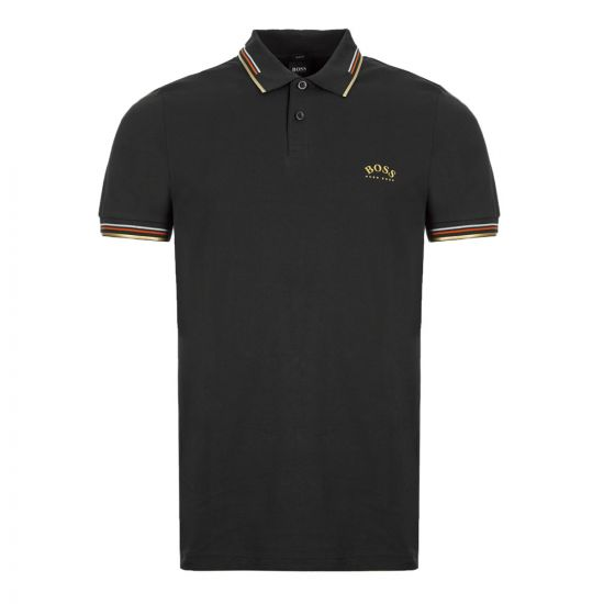 BOSS Athleisure Polo Shirt Paul Curved - Charcoal 21650CP -4