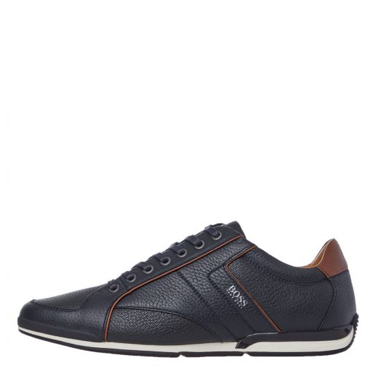 BOSS Trainers Low Top Saturn - Dark Blue  21763CP -1