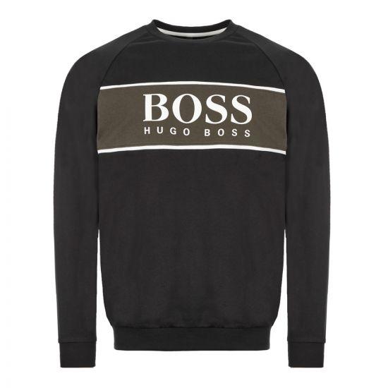 BOSS Bodywear Sweatshirt Authentic - Black 21653CP -1