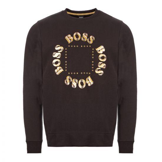 BOSS Athleisure Sweatshirt Salbo Circle - Charcoal 21669CP 0