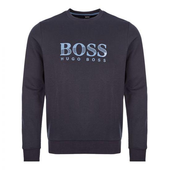 boss bodywear tracksuit sweatshirt 50414670 403 dark navy