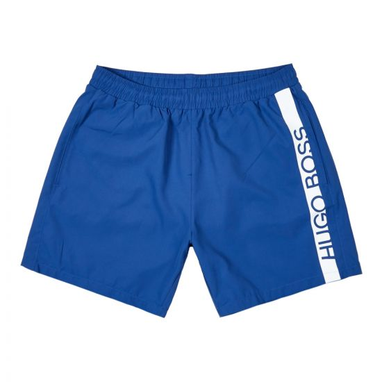 BOSS Bodywear Dolphin Swim Shorts 50407595 422 Blue