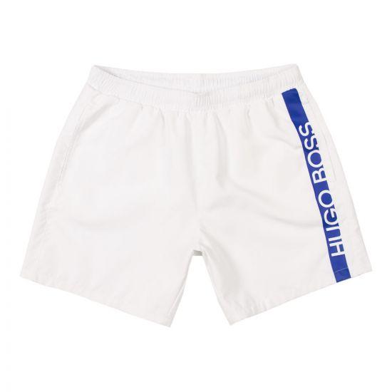 BOSS Bodywear Swim Shorts | 50407595 102 White
