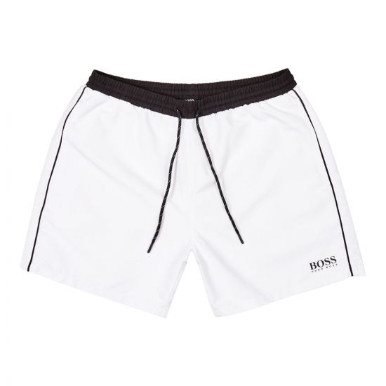 BOSS Bodywear Swim Shorts 50408104 107 White