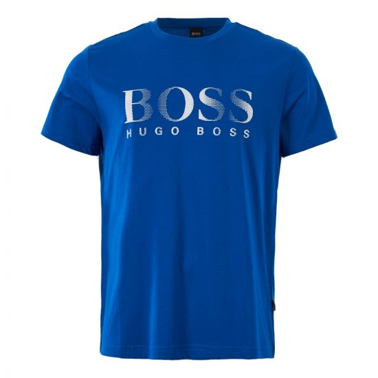 BOSS Bodywear Logo T-Shirt 50332287 422 Blue