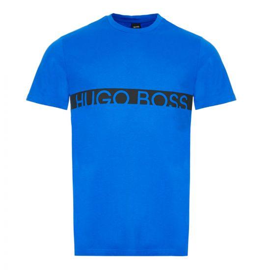 BOSS Bodywear T-Shirt - Medium Blue 21800CP -1
