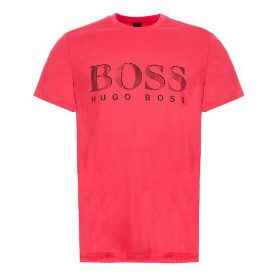 BOSS T-Shirt - Pink 21657CP -1
