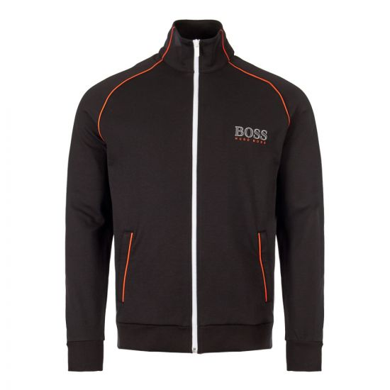 boss bodywear track top 50409118|001 black