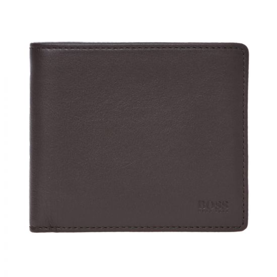 BOSS Wallet 50397483 201 Dark Brown