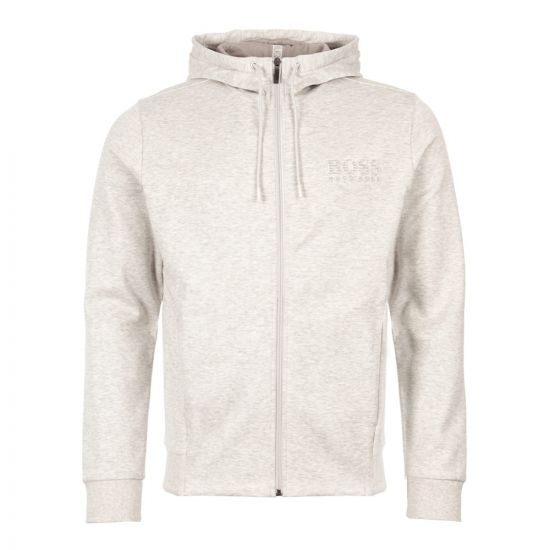 boss athleisure hoodie saggy 50399379 057 grey