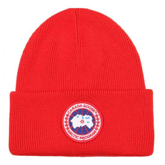 canada goose hat 6936M11 red