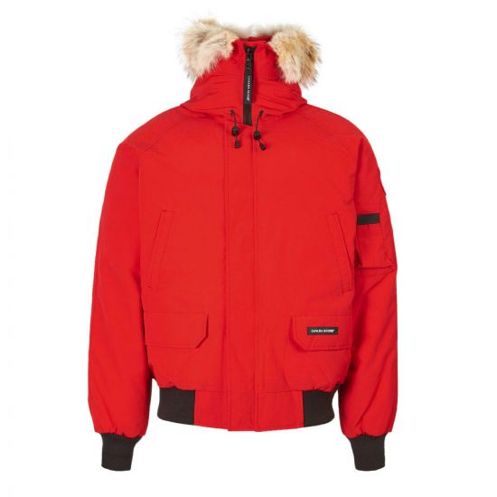 Canada Goose Chilliwack Bomber Jacket 7999M 11 In Red