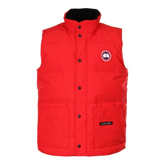 Freestyle Crew Vest - Red