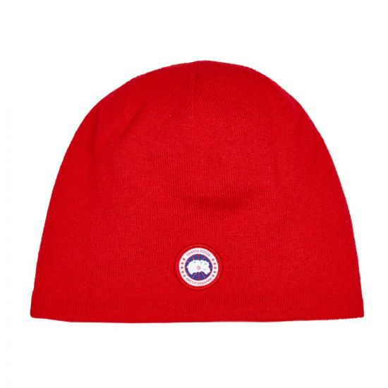 Canada Goose Knitted Hat 5116M 11 Red