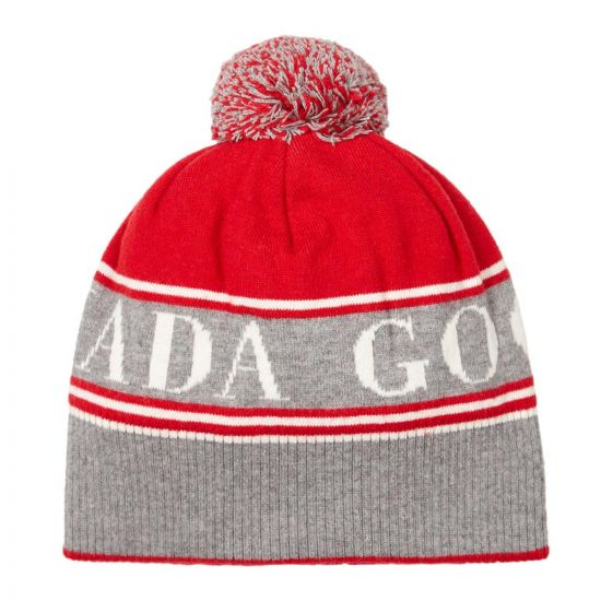 Canada Goose Hat | 5114M 11 Red / Grey