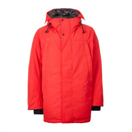 Canada Goose Sanford Parka 3400M|11 In Red At Aphrodite Clothing