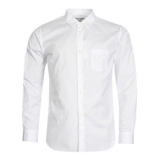 Comme Des Garçons Shirt W26936 In White