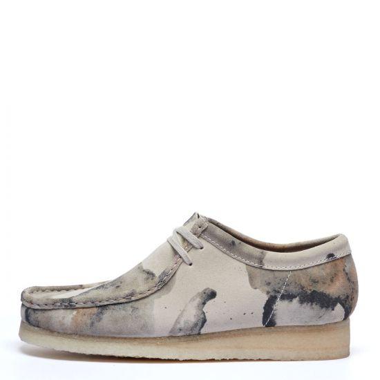 Clarks Originals Wallabee Shoes | 26148590 Off White Camo | Aphrodite1994