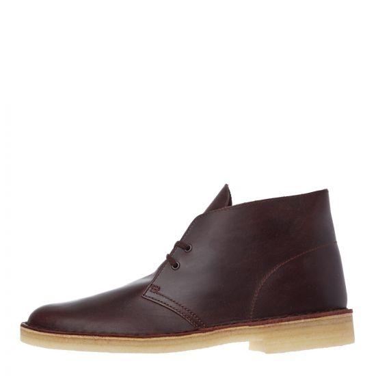 Clarks Desert Boots 26144228 Chestnut Leather