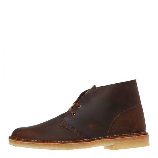 clarks desert boots 26155484 beeswax brown