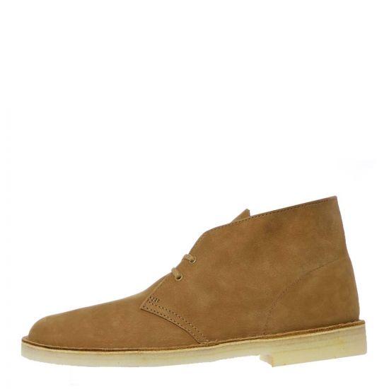 Clarks Originals Desert Boots - Oak Nubuck 21898CP -1
