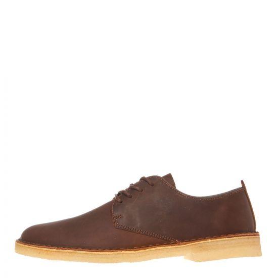 Clarks Originals Desert London Shoes 26138240 Beeswax