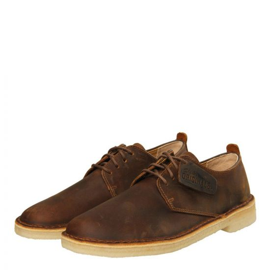 clarks london desert shoes brown beeswax 203590086