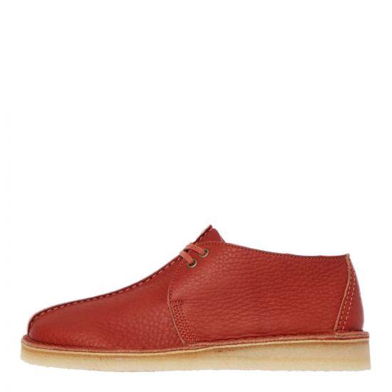 Clarks Originals Desert Trek Shoes | 26145271 Burnt Orange