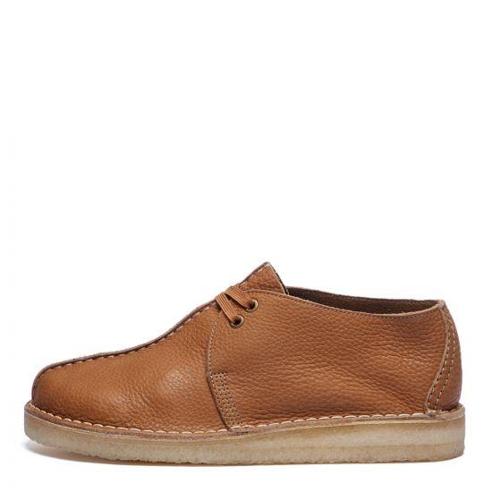 Clarks Originals Desert Trek Shoes | 26160207 Light Tan | Aphrodite1994