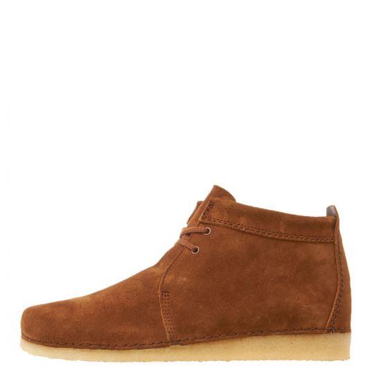 Clarks Originals Ashton Boots   26144207 Cola Suede