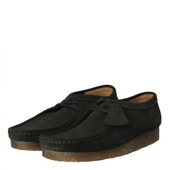 Clarks Wallabee Boots Dark Brown Suede 261036587