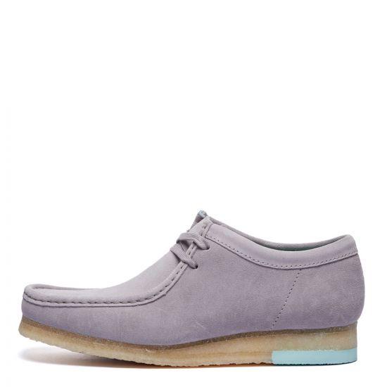 Clarks Originals Wallabee Shoes | 26160202 Grey Combi | Aphrodite1994