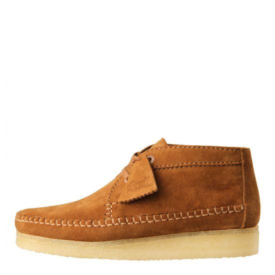 Clarks Originals Weaver Boot in Cola Suede