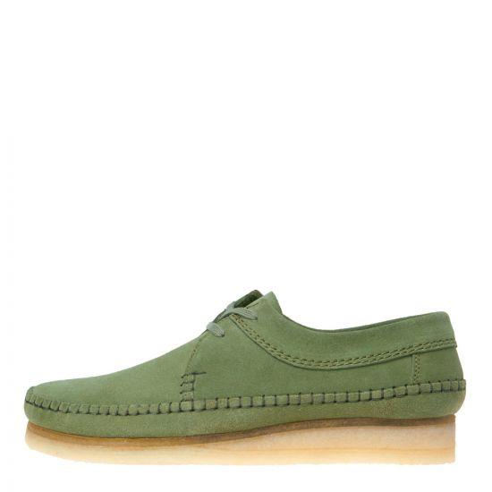Clarks Originals Weaver Shoes 26139184 in Cactus Green