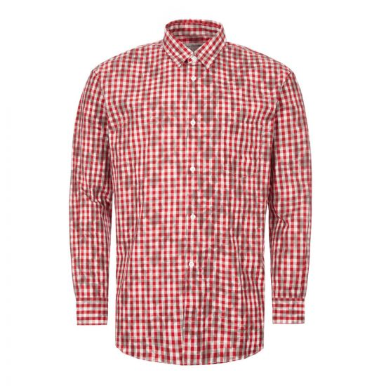 Comme des Garcons Check Shirt | Red