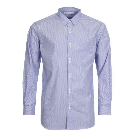 Comme des Garçons SHIRT Stripe Shirt CDGS2SDA 6 Blue