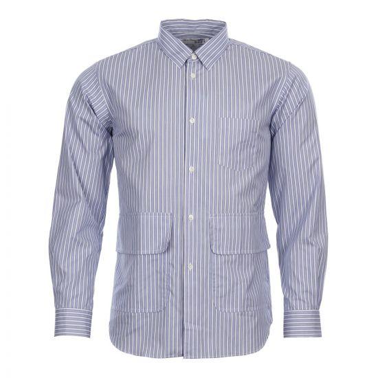 Comme des Garçons SHIRT Pocket Shirt S26916 2 Blue