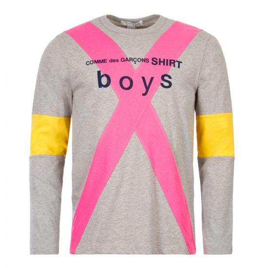 Comme des Garcons SHIRT BOYS T-Shirt | S27932|1 Grey