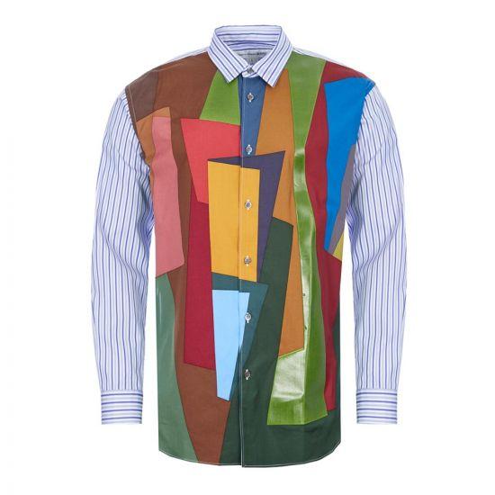 Comme des Garcons Stripe Shirt | S28023 Multi