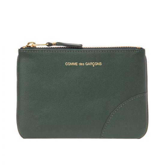 Comme des Garcons Wallet Classic | SA8100 BOTTLE GREEN
