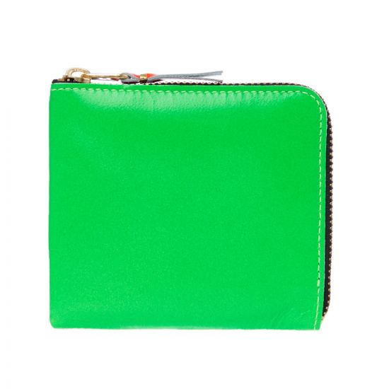 Comme Des Garcons Wallet SA3100 Blue And Green At Aphrodite1994