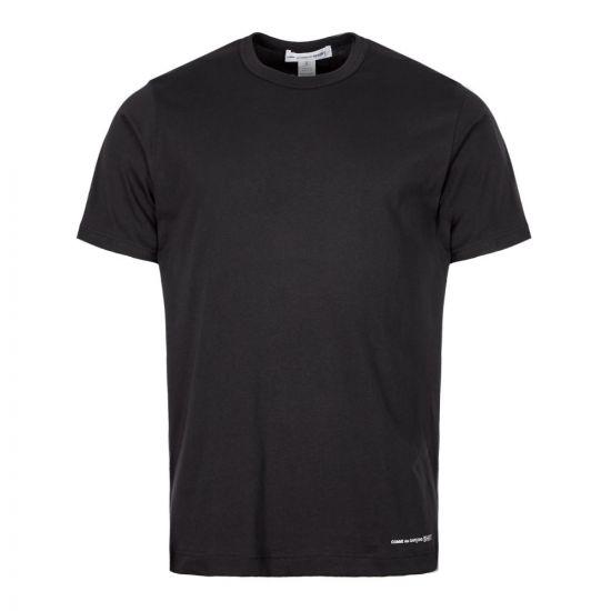 comme des Garcons SHIRT t-shirt W27111-1 in black