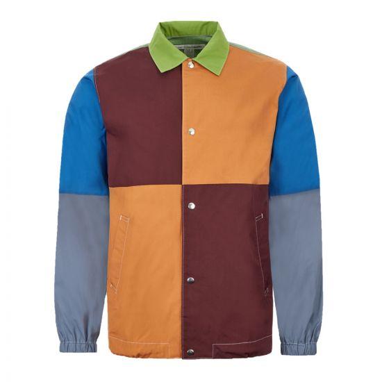 Comme des Garcons SHIRT Jacket – Multi / Green 21729CP -1
