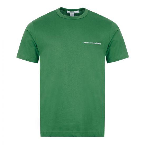Comme des Garcons SHIRT T-Shirt - Green 21734CP -1