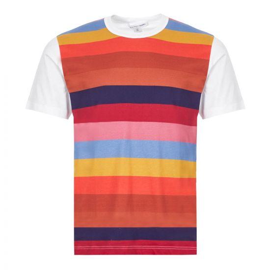 Comme des Garcons SHIRT T-Shirt - Multi Stripe 21722CP -1