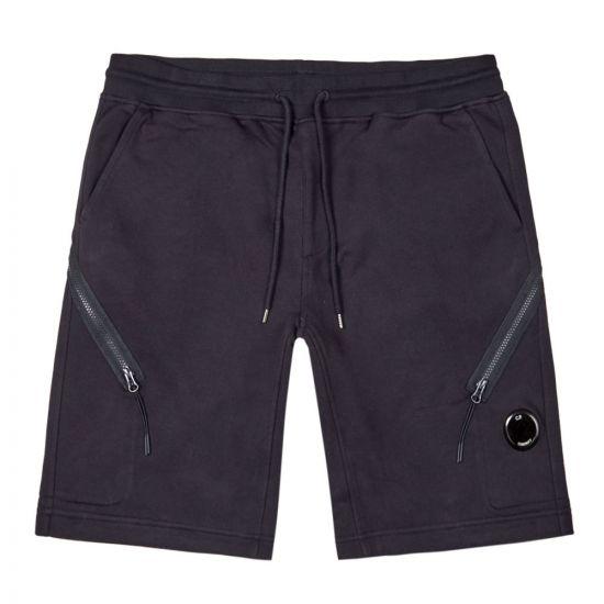 cp company bermuda sweat shorts MSB030A 005086W 888 total eclipse