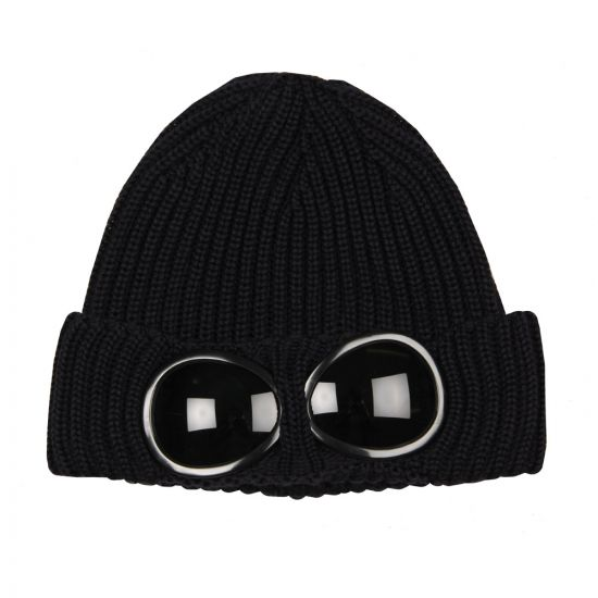 CP Company Goggle Hat in Navy