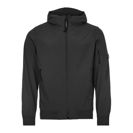 CP Company Shell Hooded Lens Jacket | MOW014A 005968A 999 Black