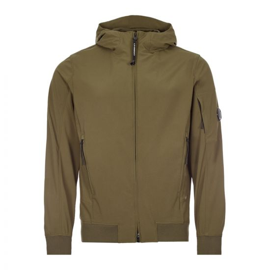 CP Company Shell Hooded Lens Jacket | MOW014A 005968A 683 Ivy Green