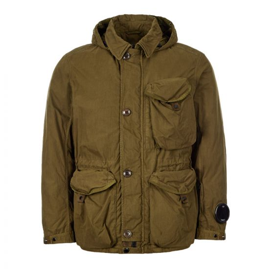 CP Company Hooded Jacket MOW205A 005503G 670 Olive